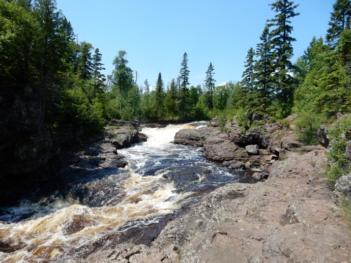 Temperance River before the rapids