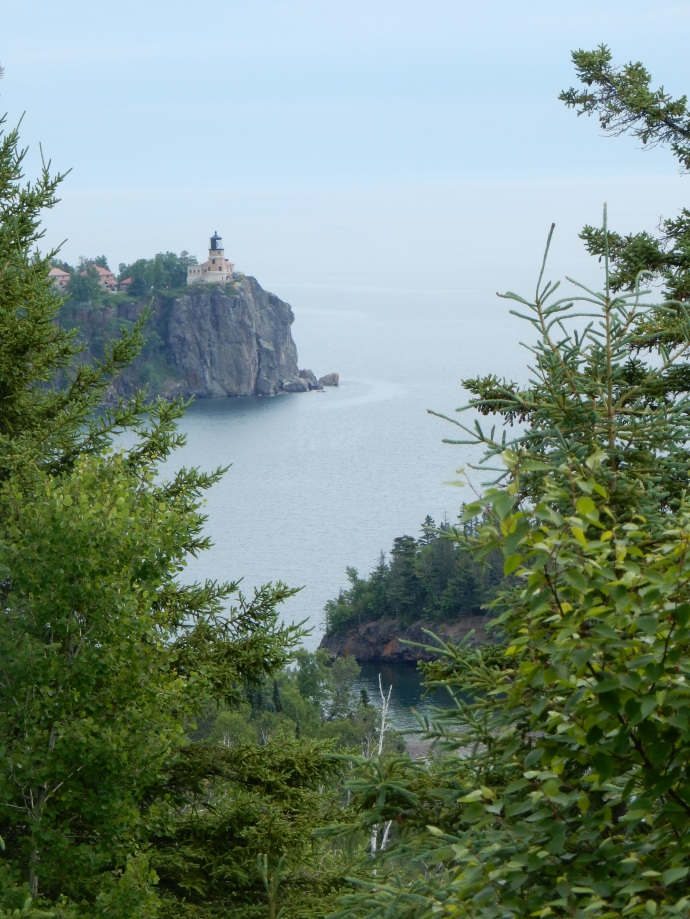 Split Rock Lighthouse from Days Hill