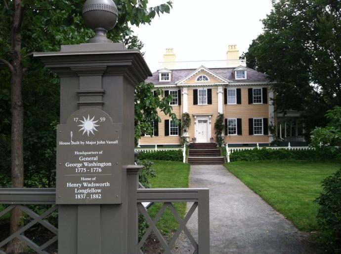Longfellow House-Washington's Headquarters Cambridge MA