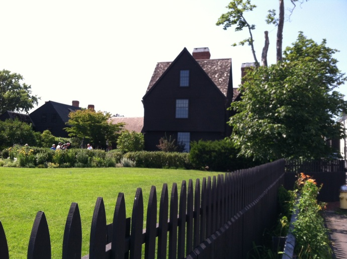 The House of Seven Gables in Salem