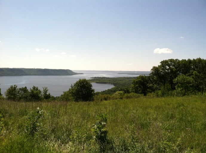 Mississippi River Valley from Frontenac State Park