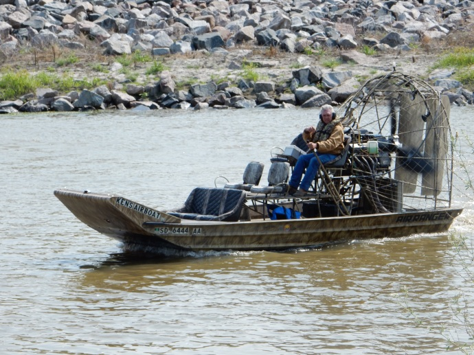 Airboat on Red Lake River