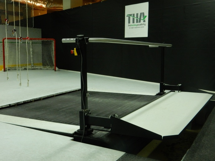 The skating treadmill at UND