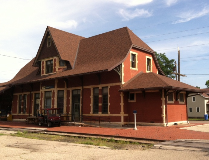 Winona MN Train Station