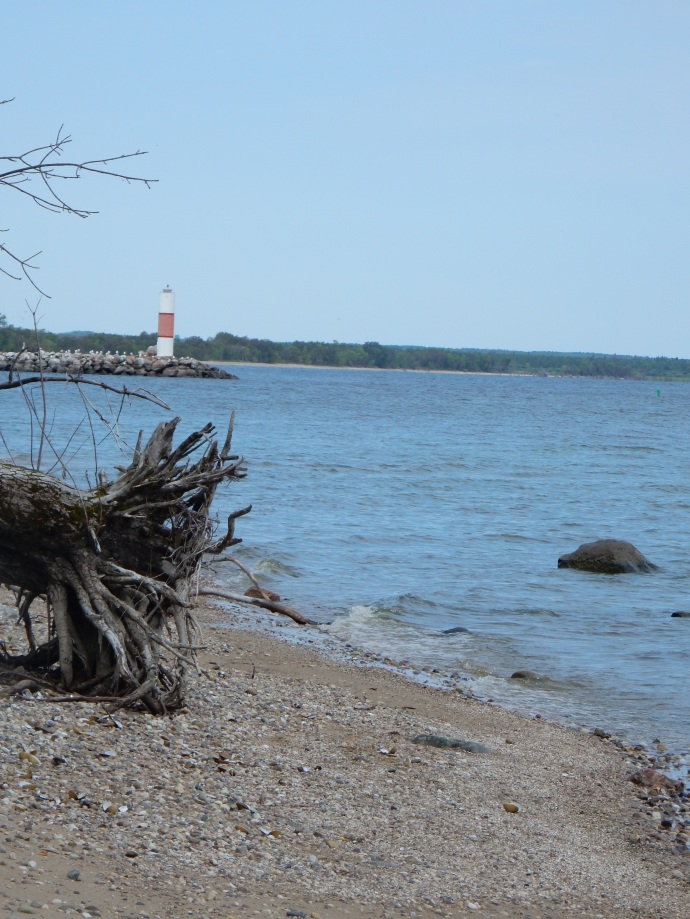 Lighthouse at Zippel Bay State Park