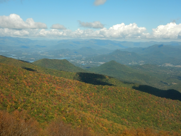 Views  from Brasstown Bald