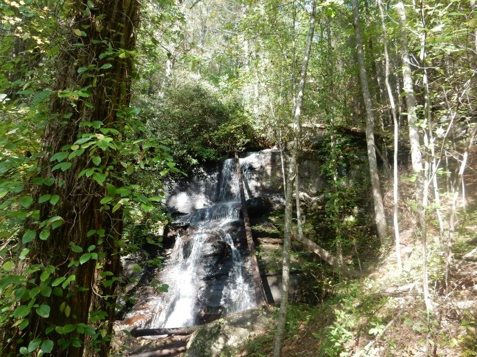 DeSoto Falls in the Chattahoochee National Forest