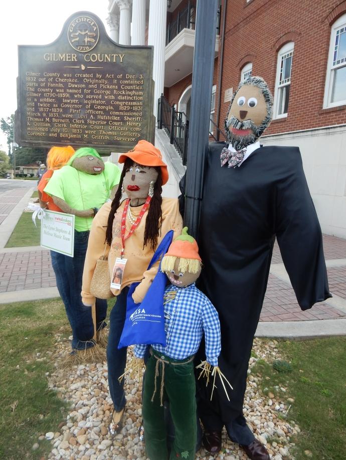 Scarecrows in Ellijay GA