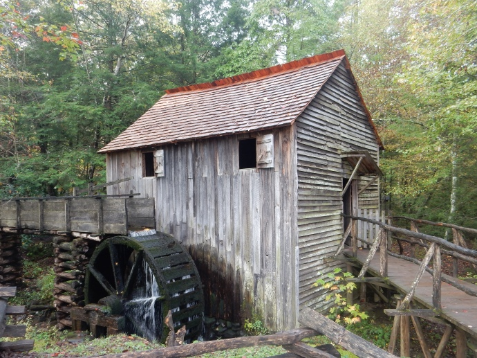 Gristmill at Cades Cove