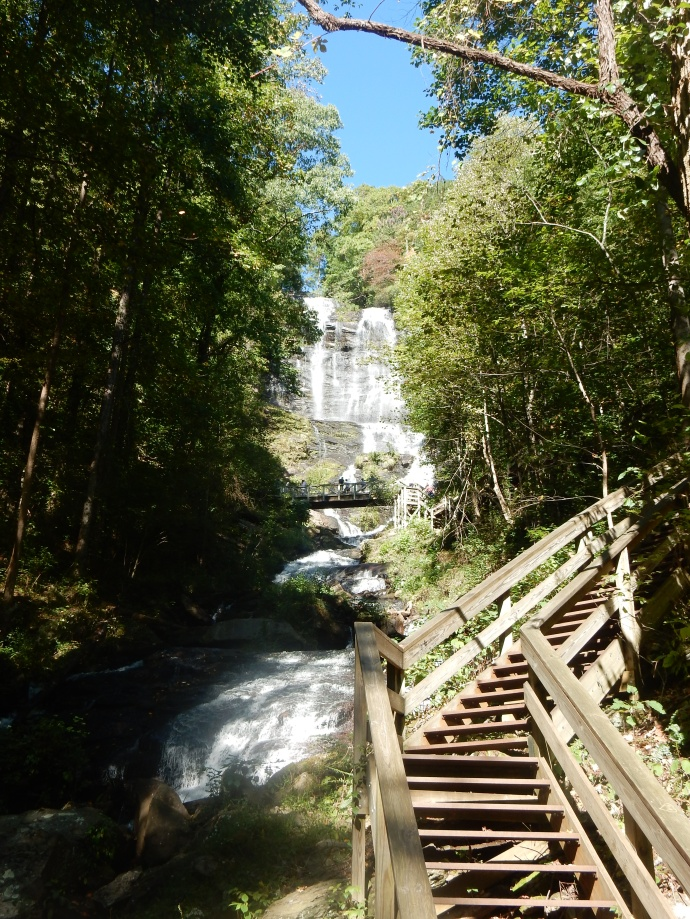 Attempt to show all of Amicalola Falls