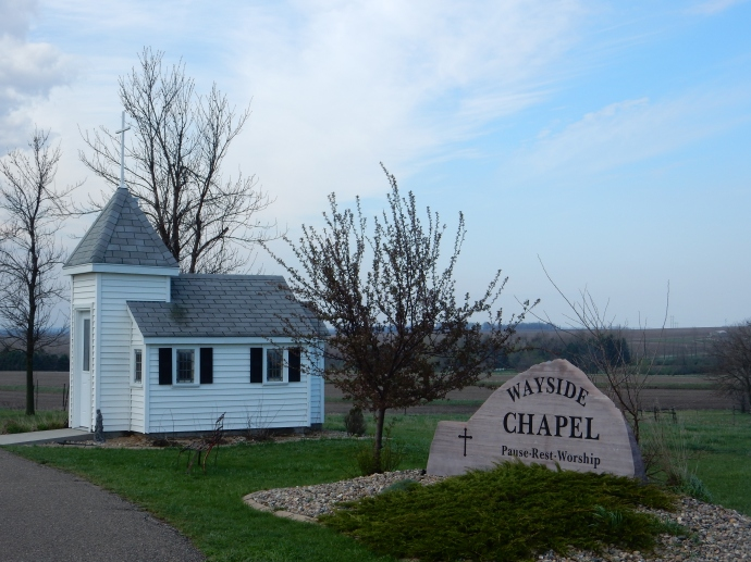 Smallest chapel north of Luverne MN