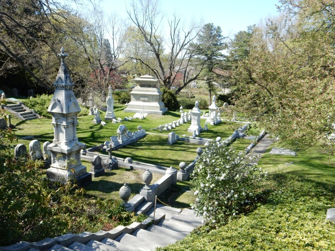 Family plot at Mt. Auburn cemetery