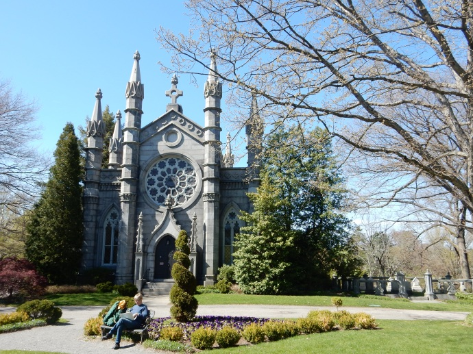 Bigelow chapel at Mt. Auburn cemetery