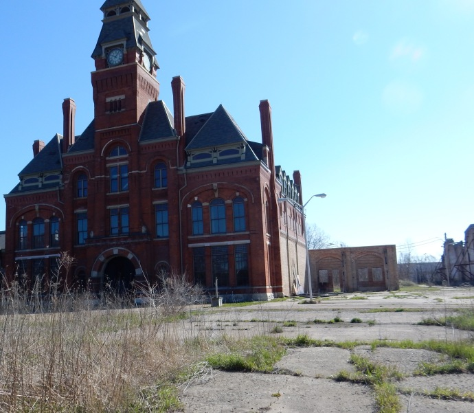 Pullman Administration Building-site of future Visitors Center
