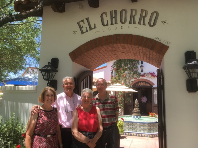 Sunday brunch at El Charro