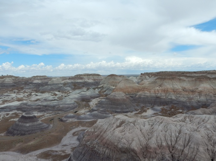 View at Blue Mesa, Petrified Forest National Park