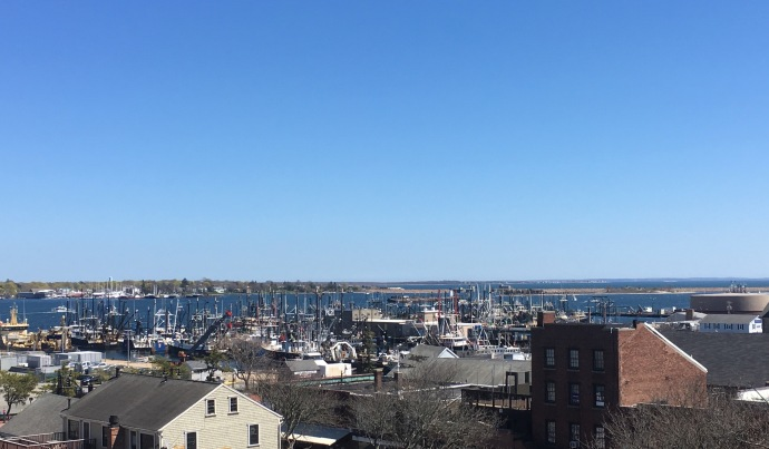 New Bedord Massachusetts harbor today