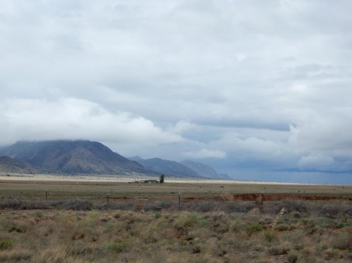 Driving to Salinas Pueblo Missions