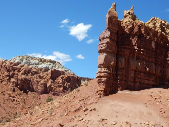 Abiquiu NM rock formation