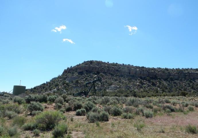 Oil drilling in NM