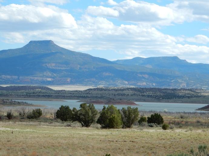 Abiquiu Lake in NM