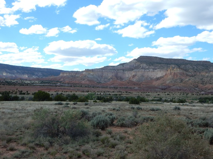 Ghost Ranch area