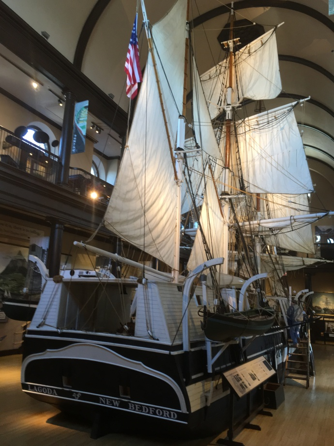 1/2 scale model of whaling vessel