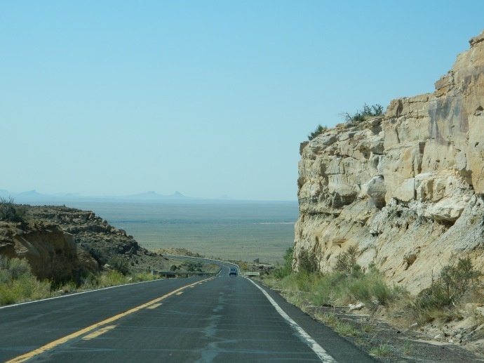 Driving to First Mesa