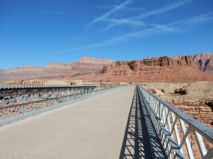 Walking the 1929 Navajo Bridge