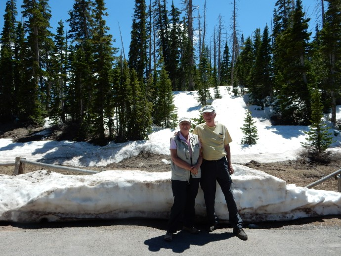Chris and Ed at Cedar Breaks National Monument