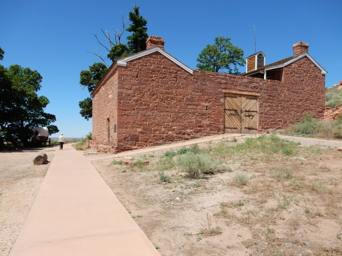 The fort at Pipe Spring National Monument