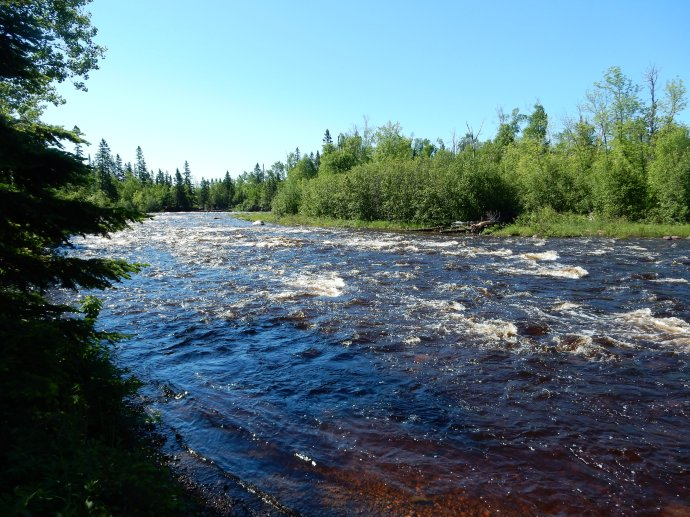 Temperance River above the falls, MN North Shore