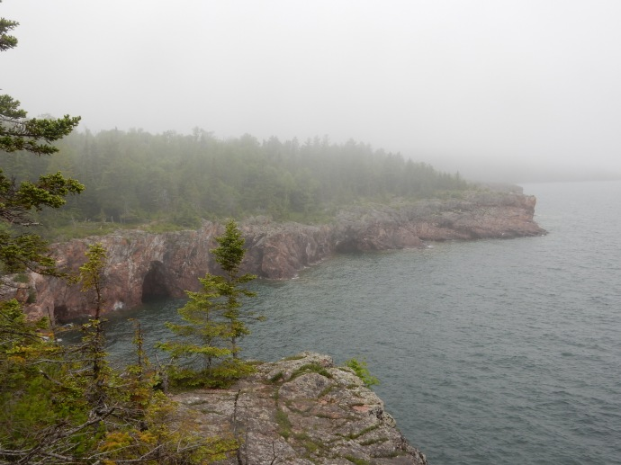 View from Shovel Point at Tettegouche State Park
