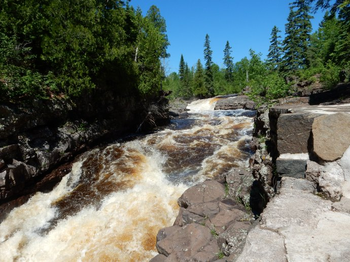 Temperance River on MN North Shore