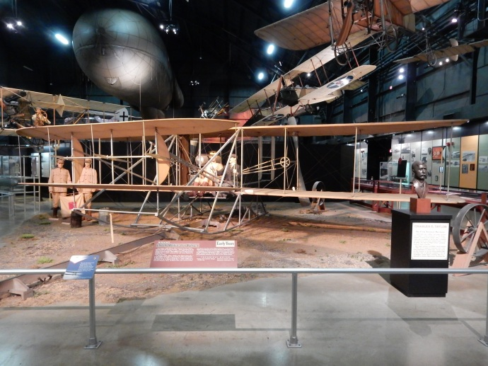 A replica of the Wright Flyer III that was sold to the US Army