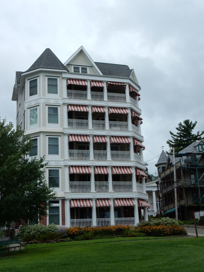 One of the lodging options for summer Chautauqua
