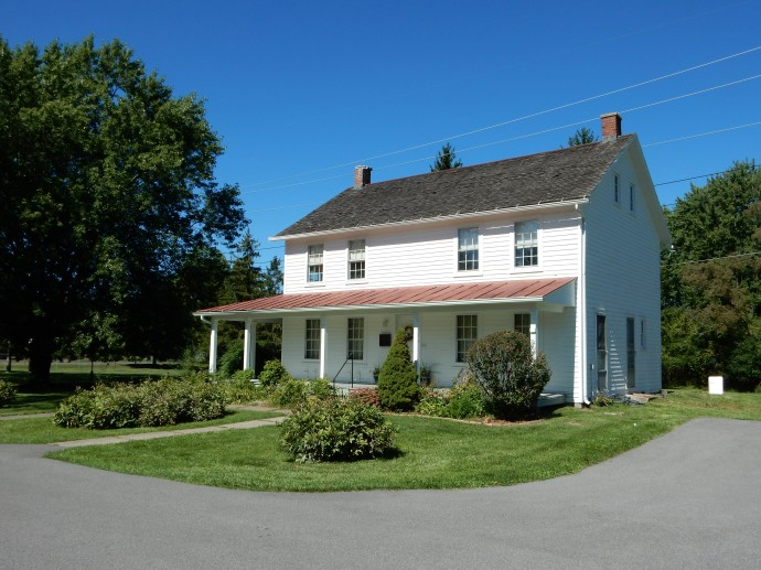 Harriet Tubman house in Auburn, New York. Pictures not allowed inside but most furnishings are from Tubman family