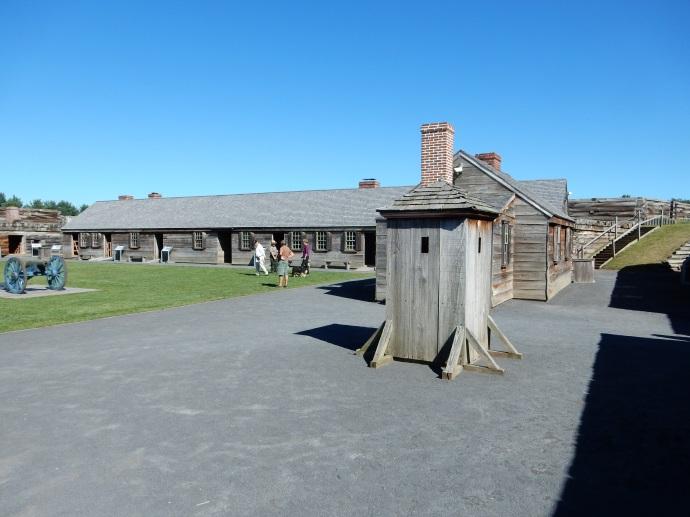 Interior of Fort Stanwix
