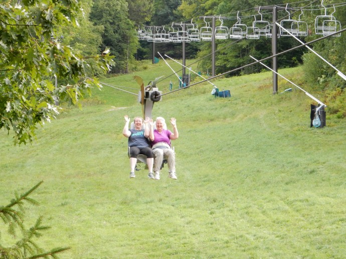 Deb and Chris on the Soaring Eagle