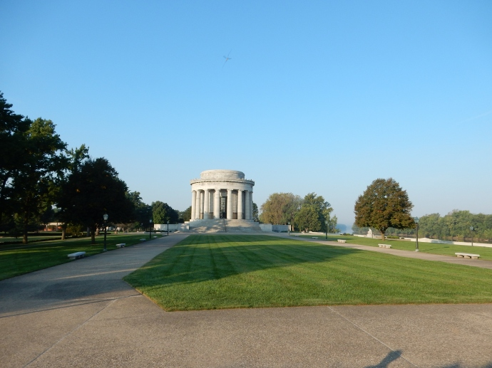 George Rogers Clark Memorial in Vincennes Indiana