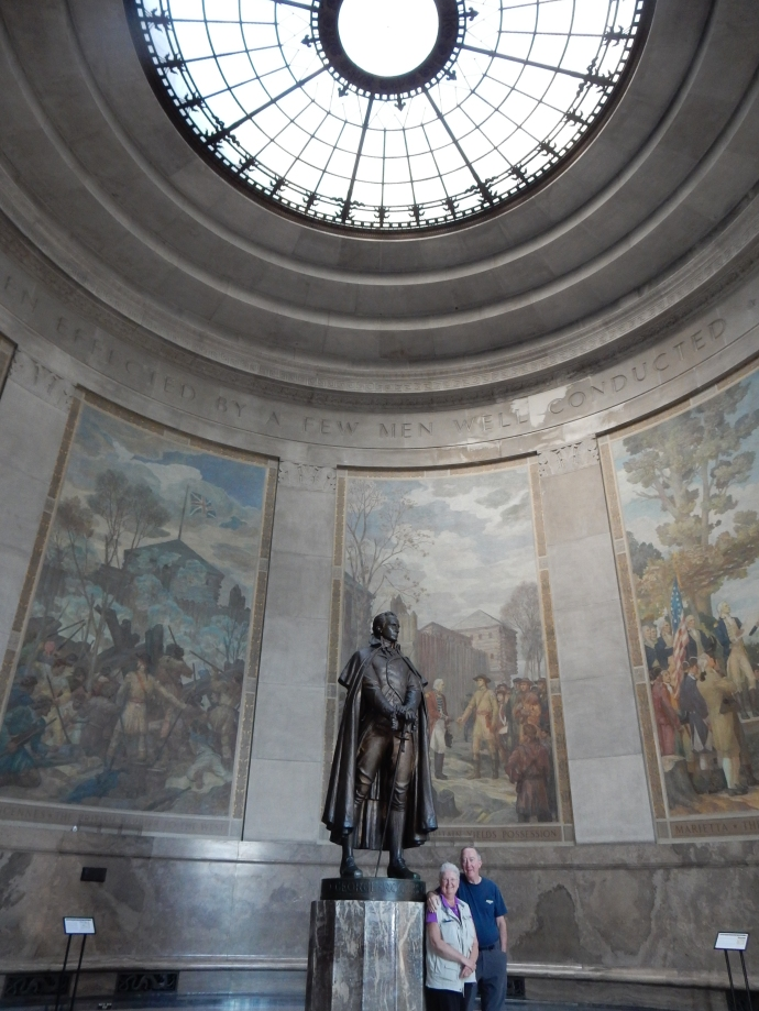 Inside the George Rogers Clark Memorial
