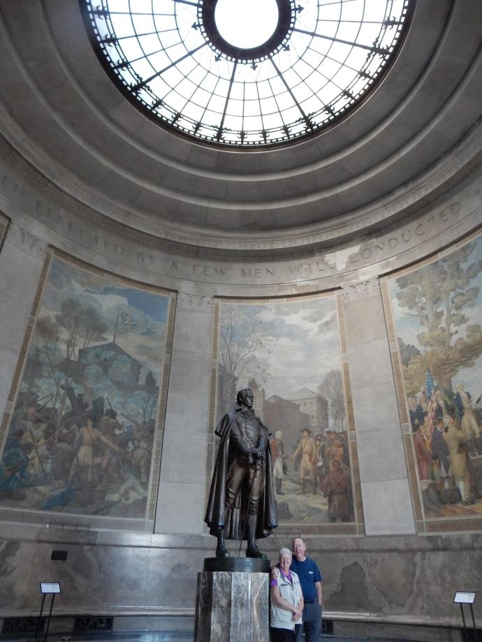 Inside the George Rogers Clark Memorial