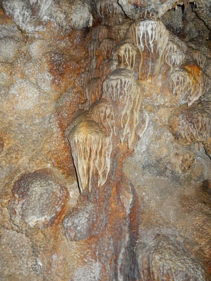 Flowstone at Jewel Cave National Monument