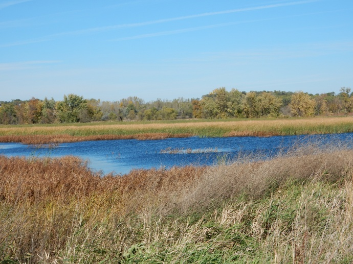 Part of Big Stone National Wildlife Refuge in west central MN