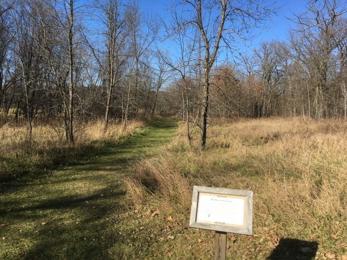 Hiking along the old Red River Oxcart Trail