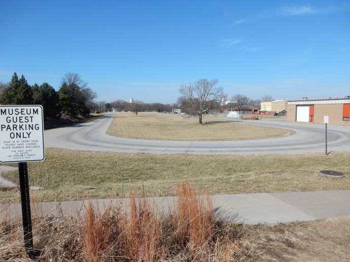 The tractor test track at University of Nebraska
