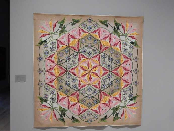 One of the award winning Japanese quilts