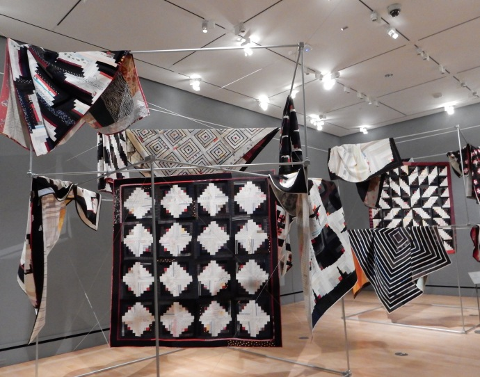 Some of the Luke Haynes quilts